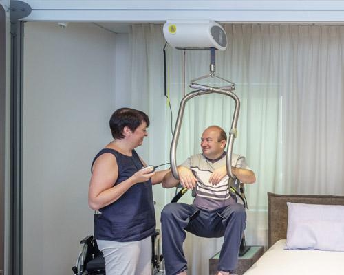 Sollevatori per disabili autoportanti